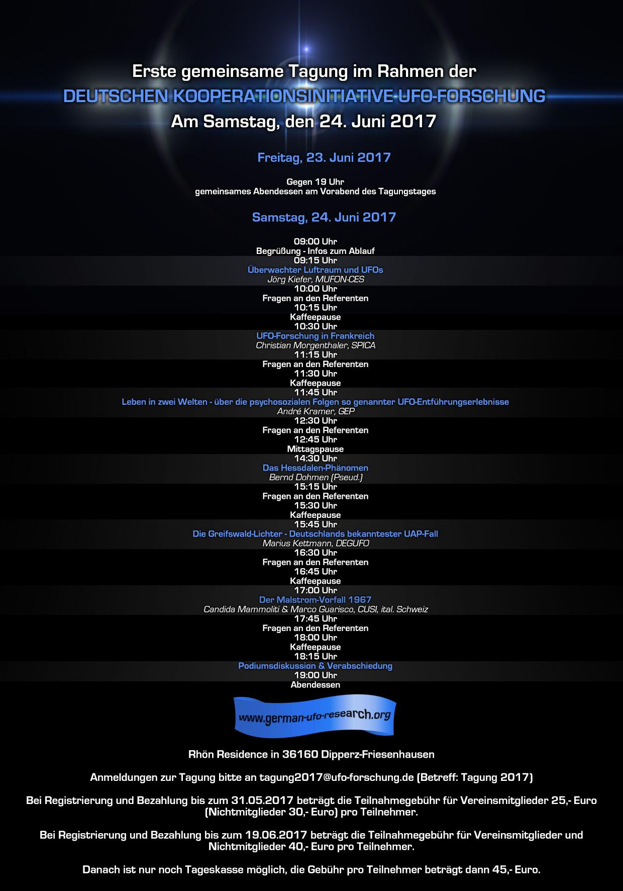 UFO-Tagung 2017
