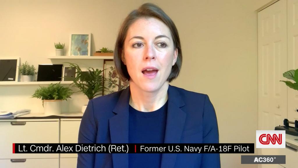 Navy Lt. Commander Alex Dietrich a.D. über die Sichtung des Tic Tac UFOs